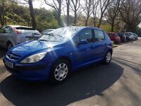 LPG gas converted so only 50 pence per litre Peugeot 307 5 door hatchback ,px options available