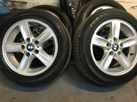 BMW 1 SERIES ALLOYS SET OF 4 .5 SPOKE ALLOYS 16 inch