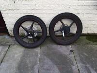 Motorbike wheels/tires