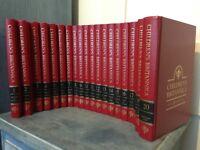 Children's Britannica Encyclopaedia Complete Set