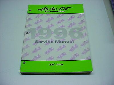 Arctic Cat 1996 ZR 440 Snowmobile Used OEM Service Manual #114