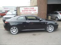 Rare Alfa Romeo GT Blackline JTS,1970 cc Coupe,full leather interior,stunning car,only 69,000 miles