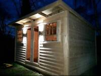 Log cabins for sale custom made 3.6m x 3m