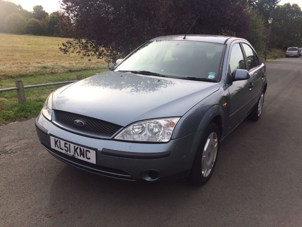 FORD MONDEO 2001 1.8L Petrol, LOW MILEAGE & MOT until 10/10/17. Not Vauxhall Vectra, Sierra or 318i