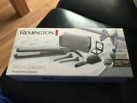 Brand new remington pro - ceramic titanium straightner set