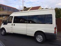 Bargain ford transit mini bus long mot drive
