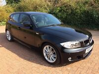 2010 Bmw 116d M SPORT, 83k miles, black, 2 keys, 2 owners, 5 door, timing chains updated £4900