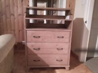 IKEA chest and chest of drawers with baby changing facility