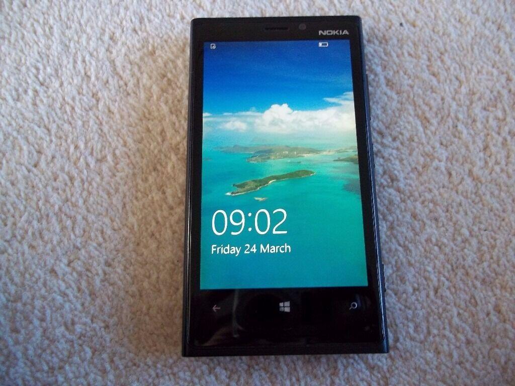Nokia Lumia 920 Black O2 Tesco Mobile In Wakefield West Touchscreen