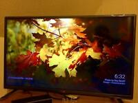 LG 32 LED TV with NOW TV box