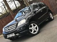 **12 MONTH MOT** AUTOMATIC MERCEDES-BENZ ML280 CDI SPORT SUV 4MATIC SERVICE HISTORY