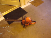 chainsaw great working order