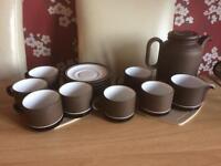 Hornsea Pottery teaset