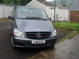 MERCEDES VITO 2012 , 2.2 AUOTMATIC DIESEL WITH SERVICE HISTORY AND MOT 10/1/19