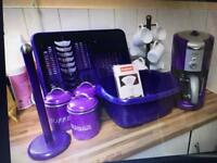 Purple kitchen bits & free local delivery @ £20