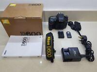 Nikon D600 Full Frame DSLR Body Only