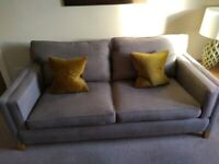 DURESTA Hopper 3 seater sofa(Grey) Ex Cond