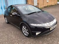 (56) Honda Civic Sport 2.2 ctdi , mot - June 2018 , 2 owners from new ,auris,golf,astra,focus,megane