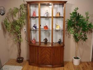 Lovely Oak Curio Display