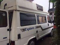 Talbot Express Campervan fiat ducato