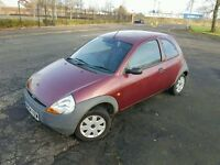 2004 Ford Ka 1.3 Petrol 3 Door Manual - MOT July 2017 - 75661 Genuine Miles - 4 Owners