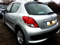 2009 PEUGEOT 207 VERVE 1.4 PETROL,EXCELLENT CONDITION,3 MONTH WARRANTY+PART EXCHANGE WELCOME