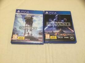 STAR WARS BATTLEFRONT 1 AND 2 FOR PS4