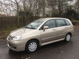 2007 Suzuki Liana 1.6 GL (ONLY 19492 MILES) Demo + 1 Owner.