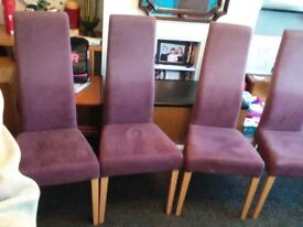 Dining chairs ( from Italy )