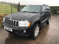 2007 Jeep Grand Cherokee Overland 3.0crd / trade in accepted