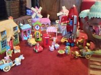 Huge happyland toy bundle