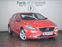 VOLVO V40 D3 SE 5DR GEARTRONIC Auto (red) 2014