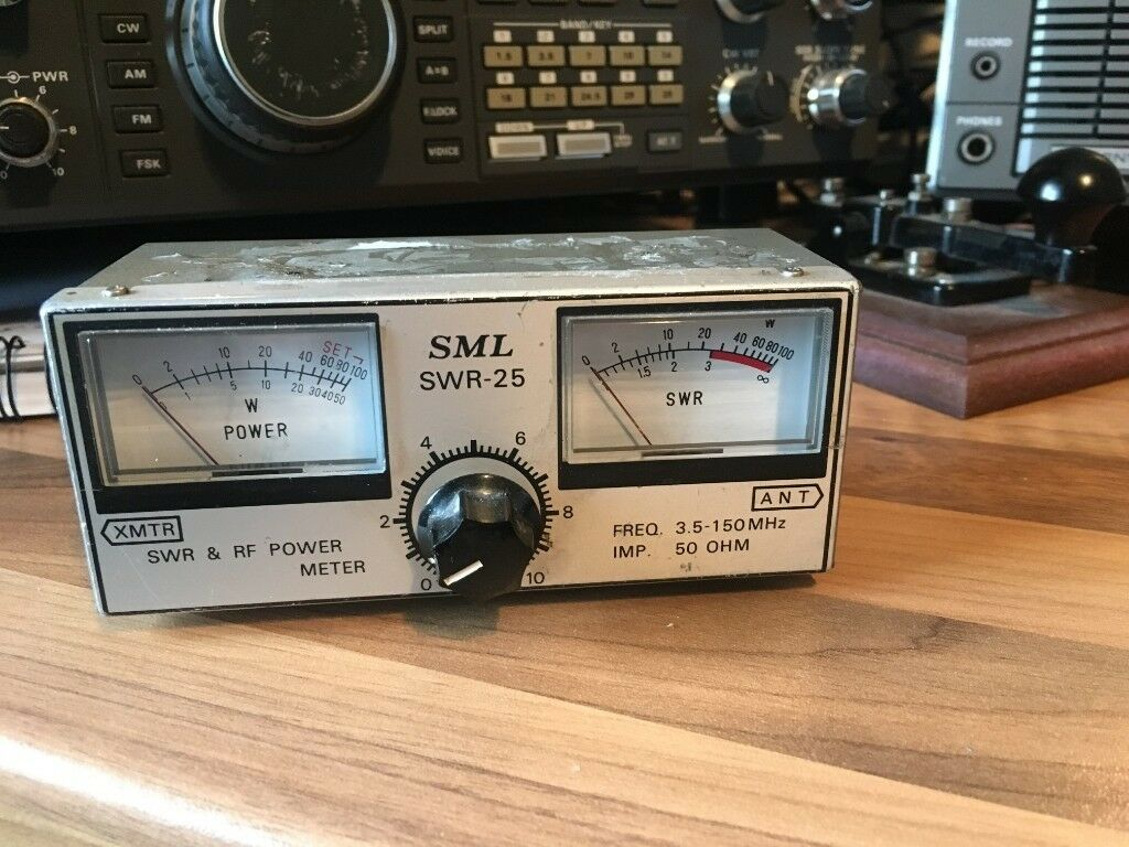 Sml Power Swr Meter 35 To 150mhz In Stechford West Midlands Audio