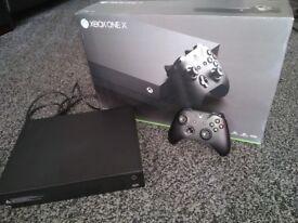 Xbox one X **Pristine condition**