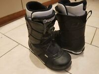 Ride Snowboard Boots Size 10 (UK) with BOA Lacing System