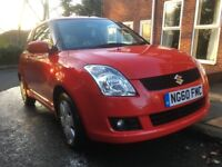 Suzuki Swift Sz3 2011 (60 plate) Low mileage with some bodywork issues