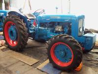 Roadless Super Major Tractor