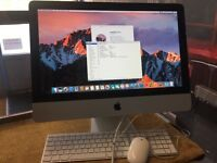 iMac 21.5 All-In-One 3.06GHz Great condition 8GB Ram 500GB HDD Perfect Working order Office 2011