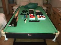 BCE 6Ft Snooker/pool table
