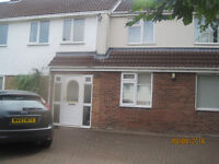 Room with double bed in shared house of 4