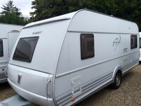 Tabbert Caravan Da Vinci (2009 Model) Awning, Spare Wheel and hitch lock. like hobby and fendt