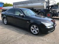 08 BMW 520D SE LEATHER SAT NAV P/EX WELCOME