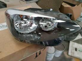 Bmw 1 series hatch back o/s/f head light
