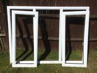 UPVC double glassed window