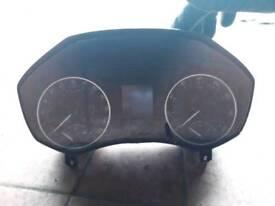Skoda Octavia clocks 2009