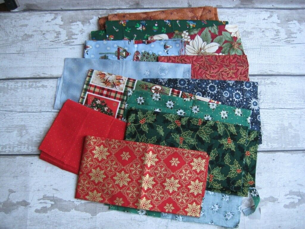 Christmas Crafting Projects.Christmas Craft Cotton Fabric Bundle 1 In Wallasey Merseyside Gumtree