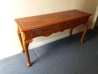 Solid Wood Reproduction Queen Anne Table