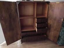 Antique armoire dresser Blacktown Blacktown Area Preview