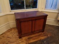 Beautiful solid wood carved blanket box/chest/storage