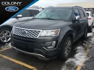 2017 Ford Explorer 1.9% FINANCE AVAIL, TOP OF THE LINE PLATINUM!